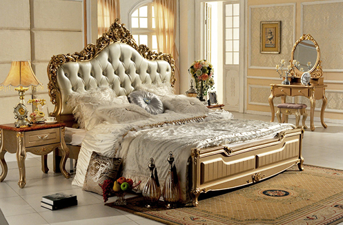 Mê mẩn với vẻ đẹp của các mẫu giường ngủ cổ điển phong cách Pháp