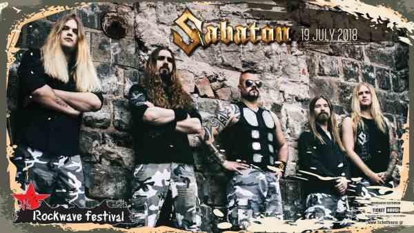 SABATON και THE RAVEN AGE προστίθενται στο lineup του Rockwave Festival