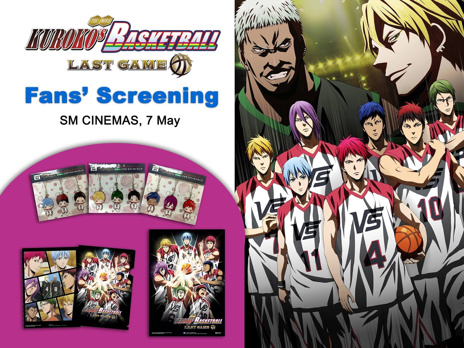 Kuroko No Basket Last Game Fans Screening In The Philippines With