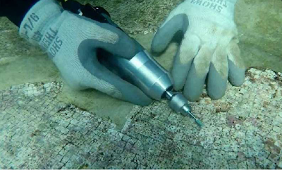 Source of submerged Roman marble investigated