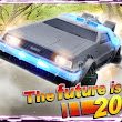 DeLorean time machine Like iPhone Case