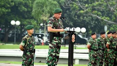 TNI Gelar Apel Pasukan Pam VVIP Kunjungan Raja Arab Saudi dan KTT IORA ke-20
