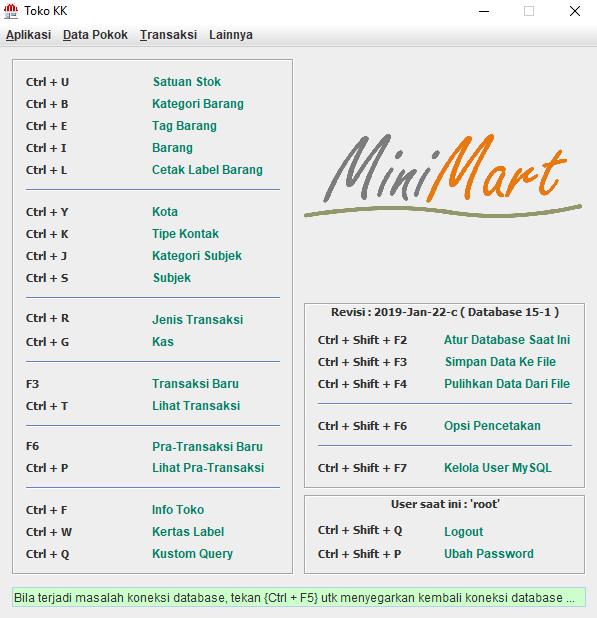 minimart aplikasi kasir gratis