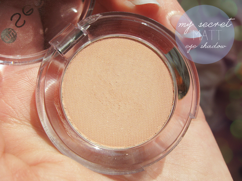 cienie my secret matt eye shadow