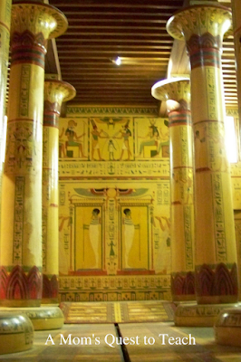 Model of Egyptian Temple