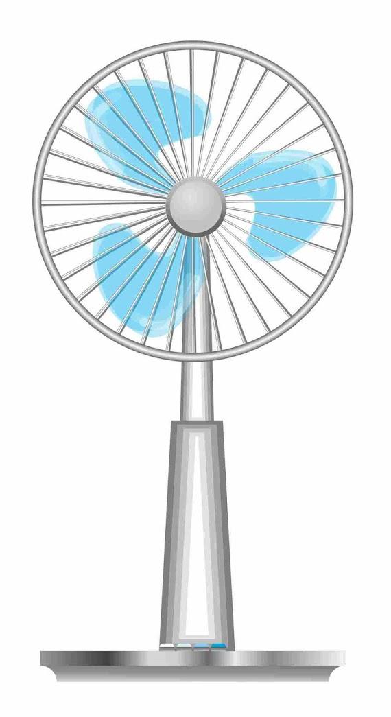 扇風機 イラスト
