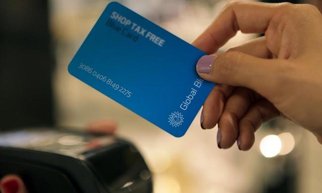 Cartão TAX FREE da Global Blue