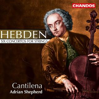 John Hebden (1712-1765) - Six Concertos for Strings
