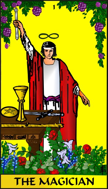 The Magician Tarot: She Who Seeks: Tarot Soul Card -- Magician (Number 1