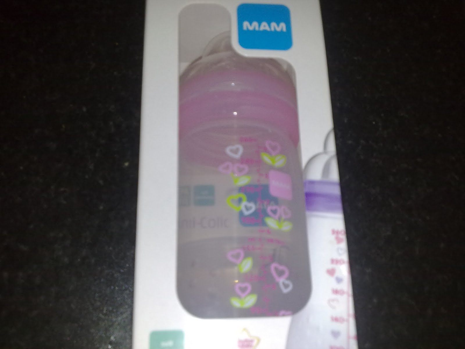 Busy Mum Of 3 Mam Anti Colic Self Sterilising Bottle