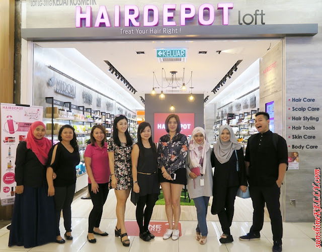 Hairdepot Loft, 1 Utama outlet, hair scalp care solutions
