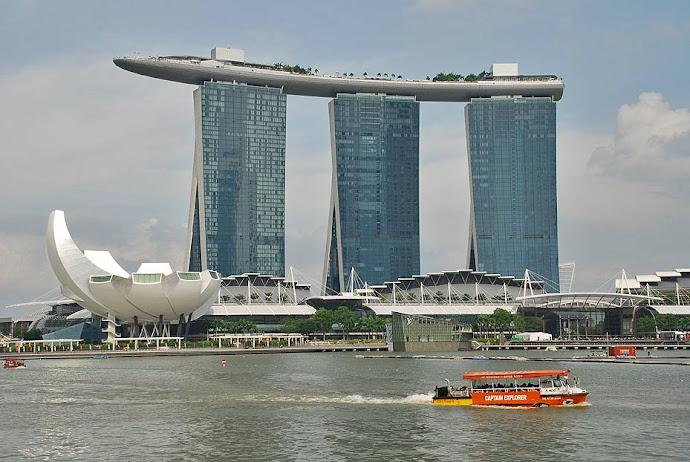 El rascacielos Marina Bay Sands