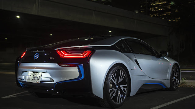 New 2016 BMW i8 Supercar More Power review back view