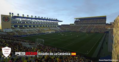 PES 2019 Stadium Estadio de la Cerámica by Arthur Torres