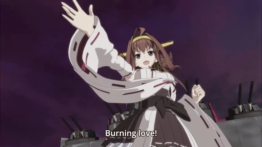 Kongou's Burning Love - Kantai Collection