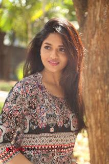 Actress Sunaina Latest Stills in Floral Dress at Pelliki Mundu Prema Katha Trailer Launch  0022.JPG