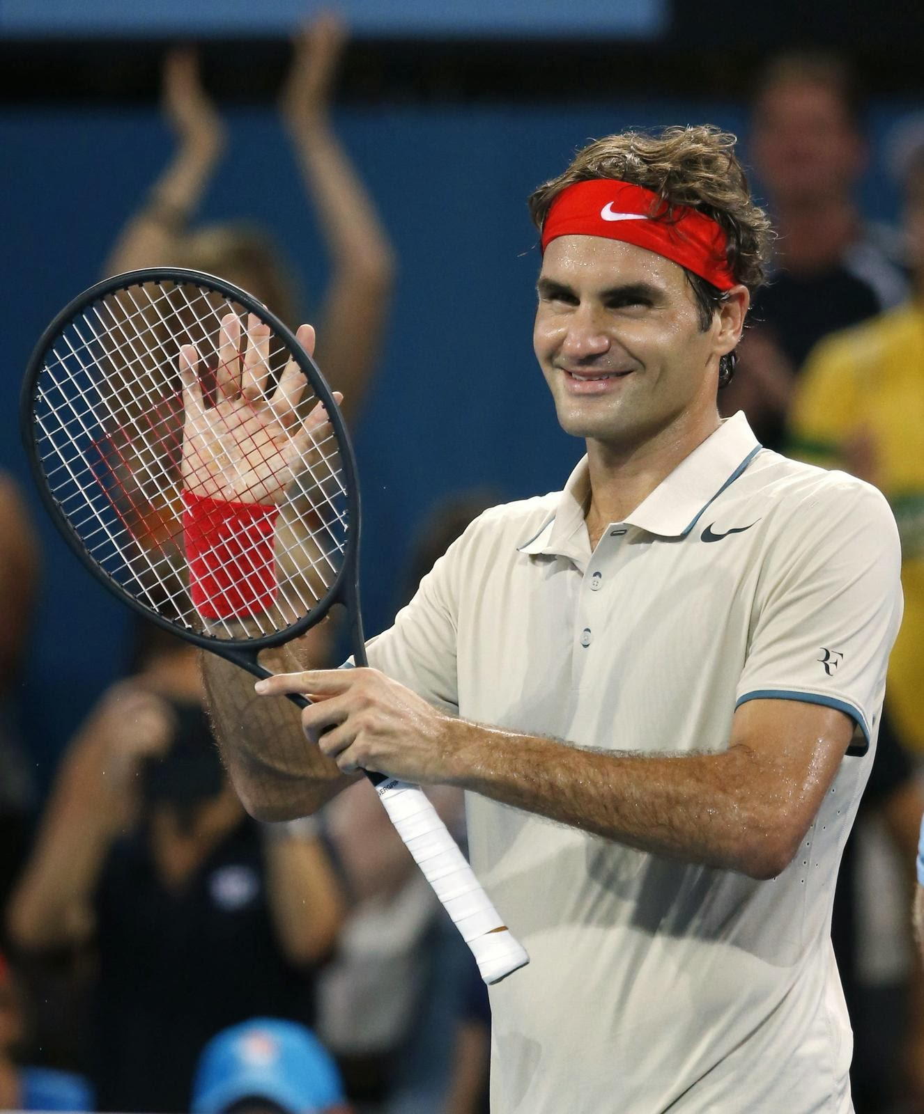 Roger Federer: RANDOM THOUGHTS OF A LURKER: Roger Federer Battles Into