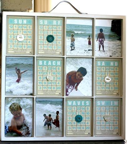 beach vacation printer tray box