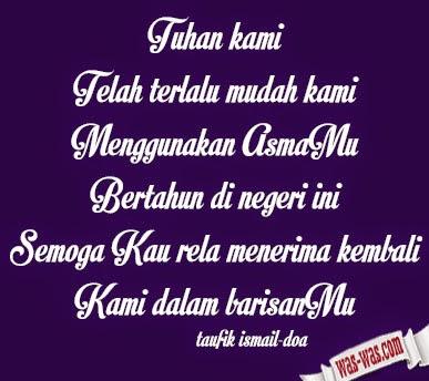 """""""Kumpulan Puisi Taufik Ismail"""""""