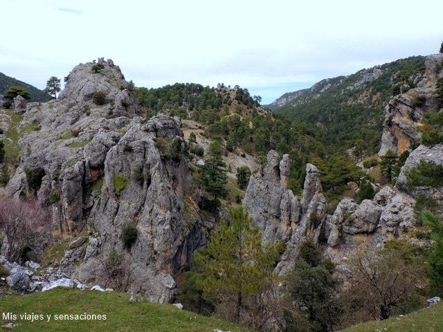 Mirador estrecho de perales, Parque Natural de la Sierra de Cazorla, Andalucía