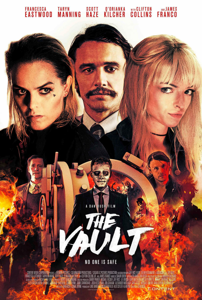 the vault movie poster