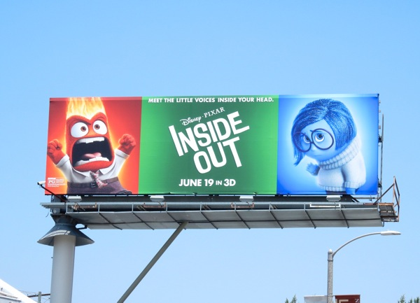 Inside Out Anger Sadness billboard