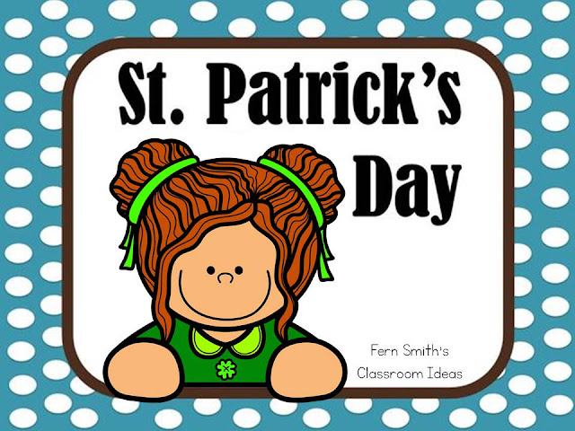 Resources, humor, crafts, recipes, freebies, books and elementary classroom tips for St. Patrick's Day on my St. Patrick's Day Pinterest Board -   Fern Smith's Classroom Ideas!