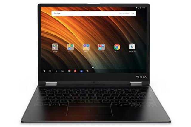 Máy tính bảng Android Lenovo Yoga A12 chính thức ra mắt