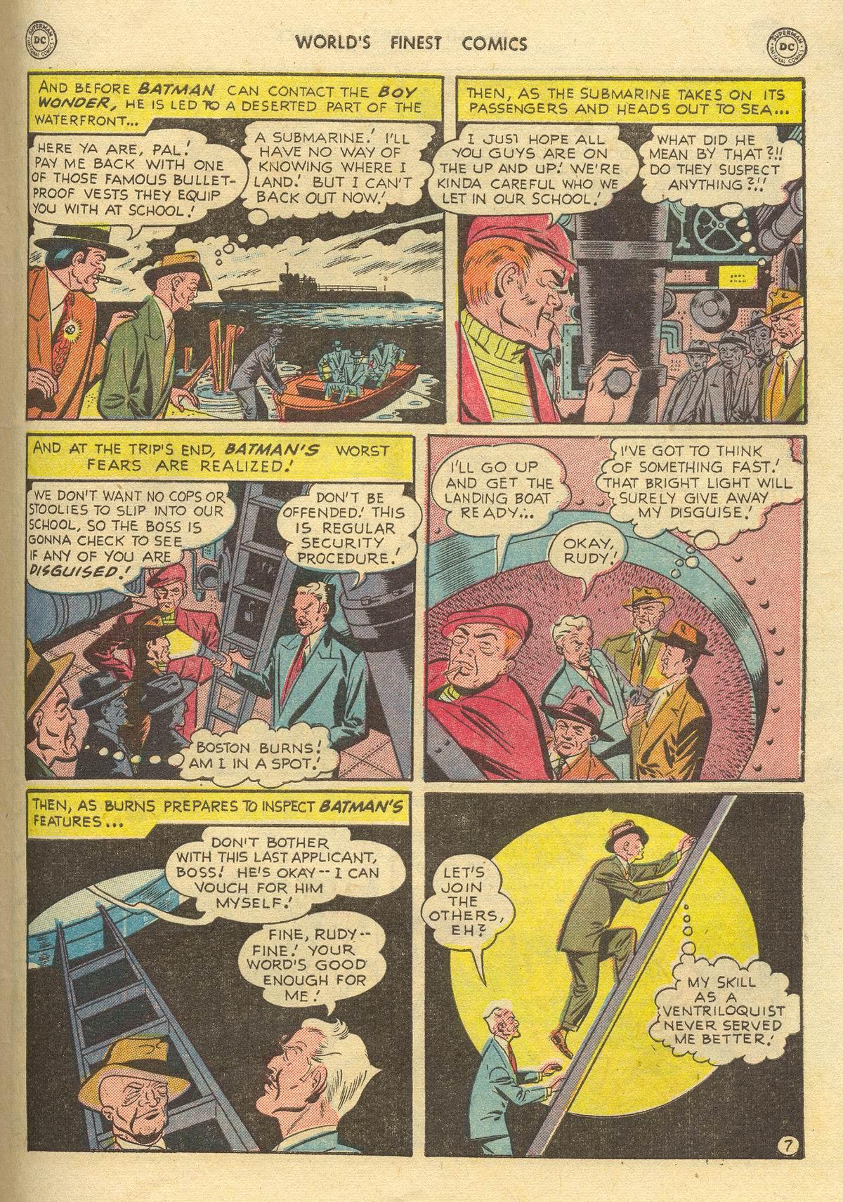 Read online World's Finest Comics comic -  Issue #51 - 69