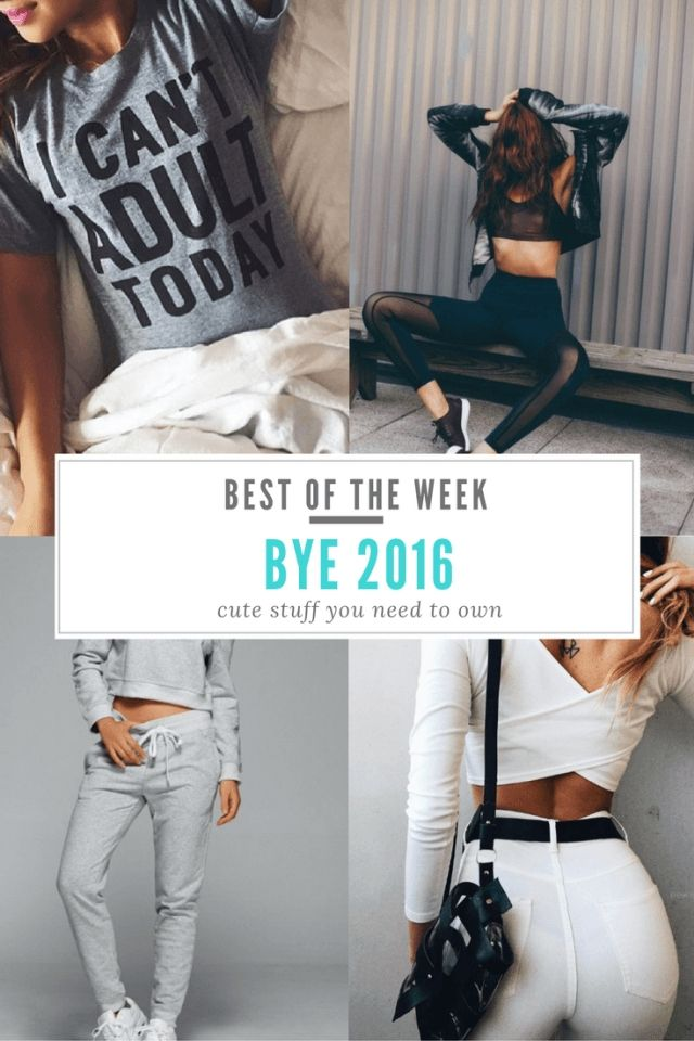 Best of the Week: Bye, 2016!