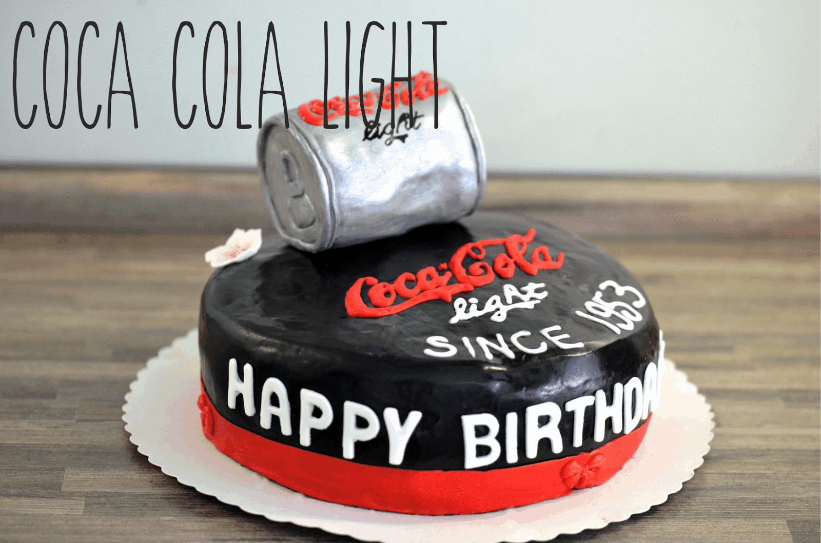 Melina S Susses Leben Motivtorte Coca Cola Light Mit Schoko Chili