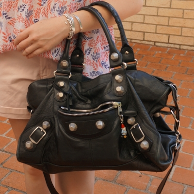 Balenciaga part time in black 2010 with SGH | away from the blue