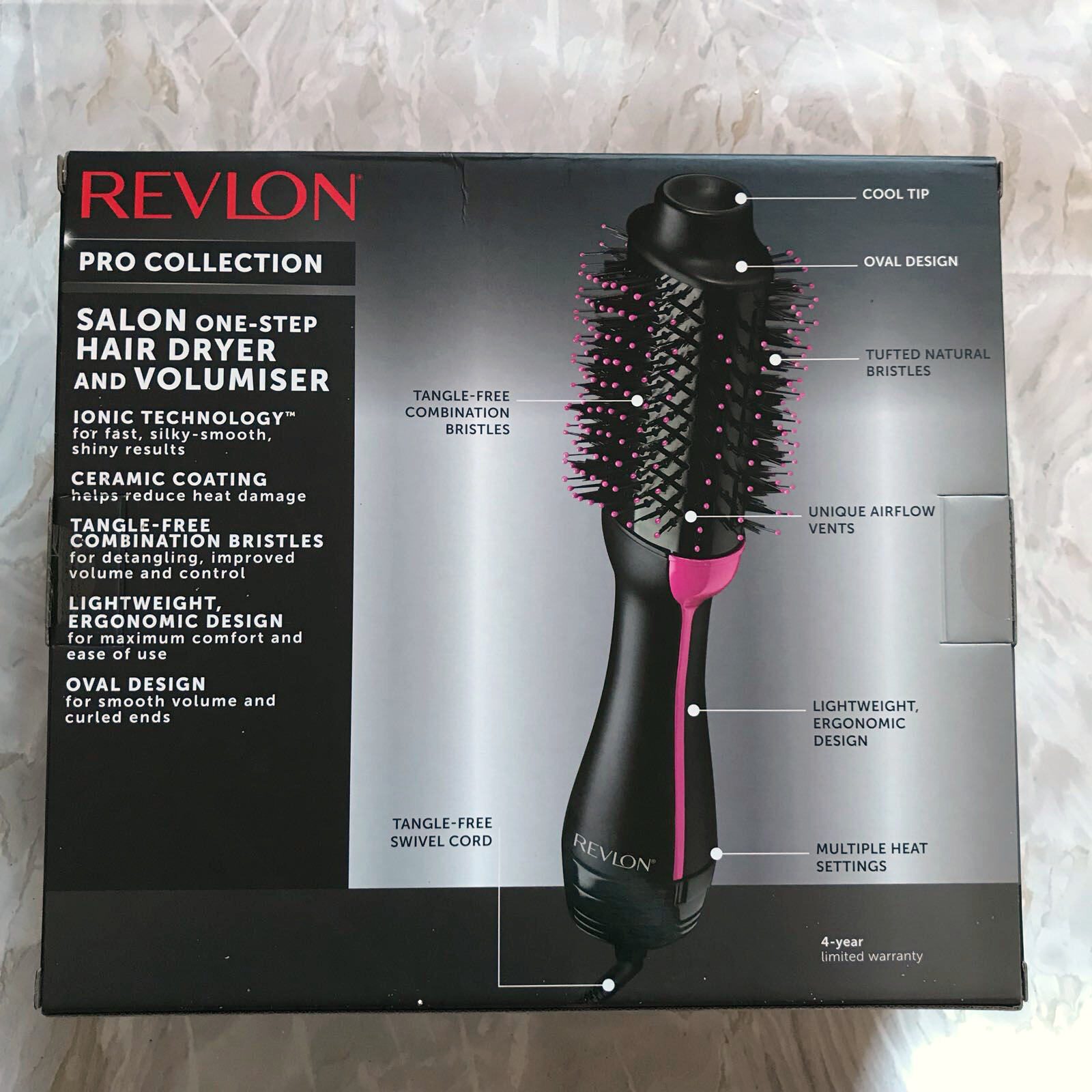 Revlon Pro Collection One Step Hair Dryer And Volumiser