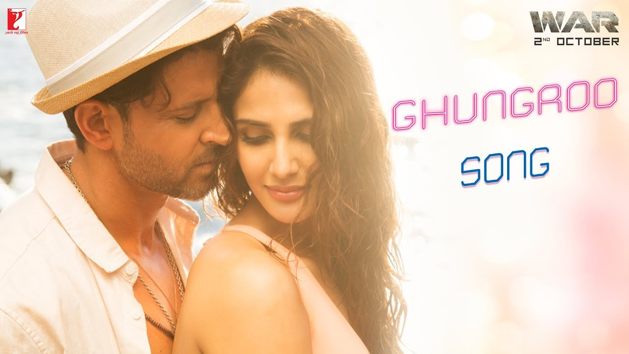 Ghungroo Video Song - War | Hrithik Roshan, Vaani Kapoor | Arijit Singh, Shilpa Rao