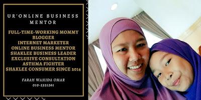 Cara Buat Bisnes Shaklee Online Pengedar Shaklee Skudai & Johor Bahru