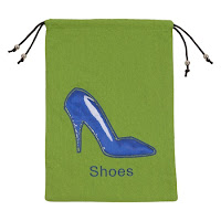 Mosafer Linen Shoe String Bag