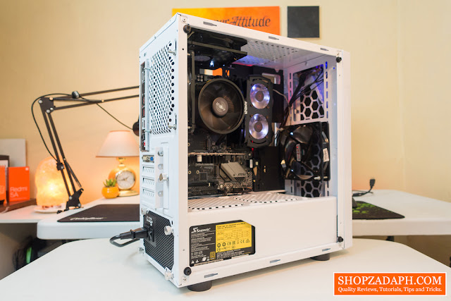 rakk anyag frost pc build