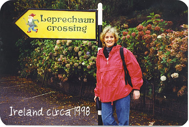 Leprechaun Crossing in Ireland.