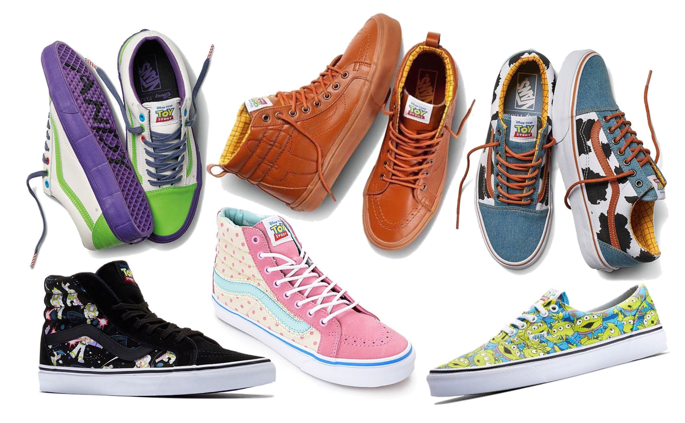 b52588f72143aa Vans Launches a  Toy Story  Themed Shoe   Accessories Collection   It s  Awesome (