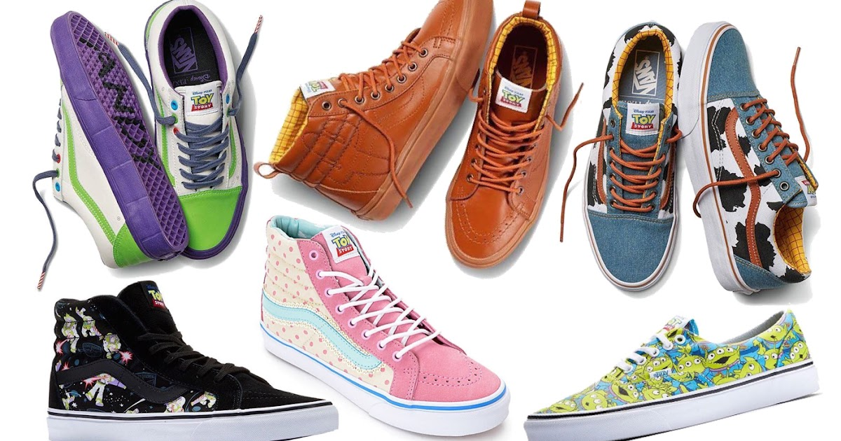 Vans Shoes Cars Themed
