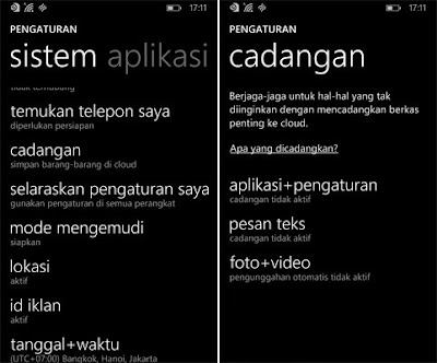 Cara Full Backup Windows Phone
