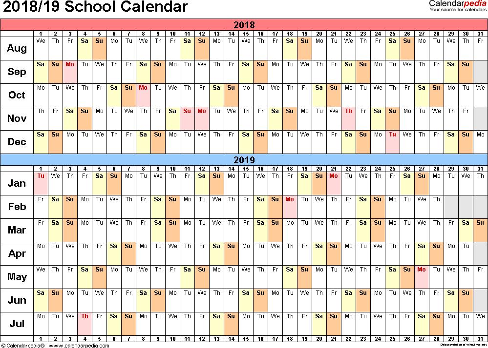 monthly school calendar template bire 1andwap com