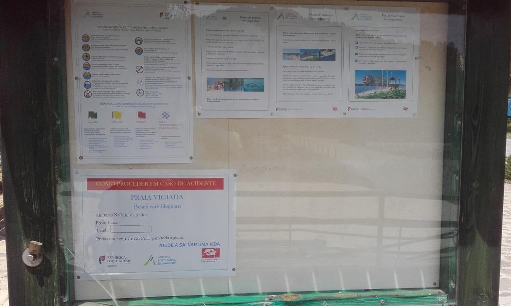 praia fluvial do Pego Fundo - informação