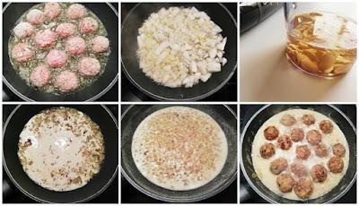 Albóndigas en salsa de cacahuete