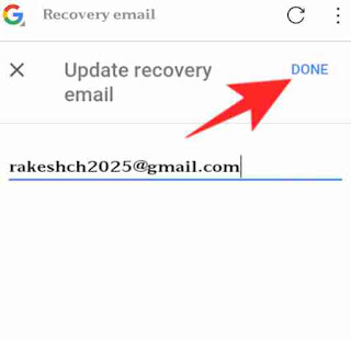Google account me recovery email set kaise kare 5