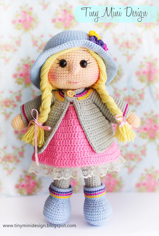 Mia Bebek Için Kivi Elbise - El Yapımı Oyuncak Örgü Bebek Kıyafeti ... | 1487x1000