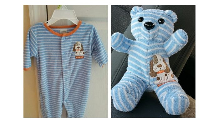 ace1523da1ca How to Make the Perfect Keepsake with Outgrown Baby Clothes - DIY ...