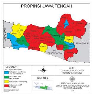 Analisis Tipologi Klassen Jawa Tengah