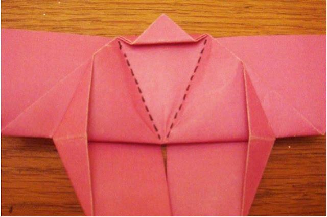 membuat kupu kupu dari kertas warna