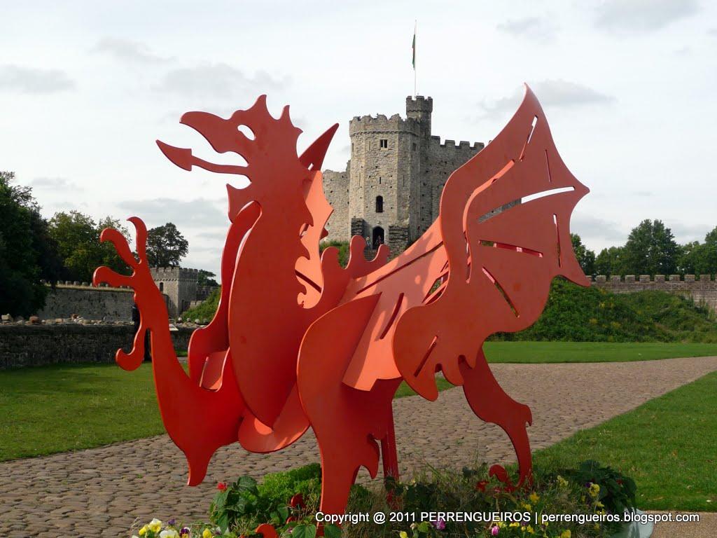 País de Gales  O Castelo de Cardiff - perrengueiros 7b63164b5b33a